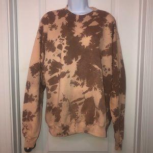 New Bleached Crewneck Sweatshirt